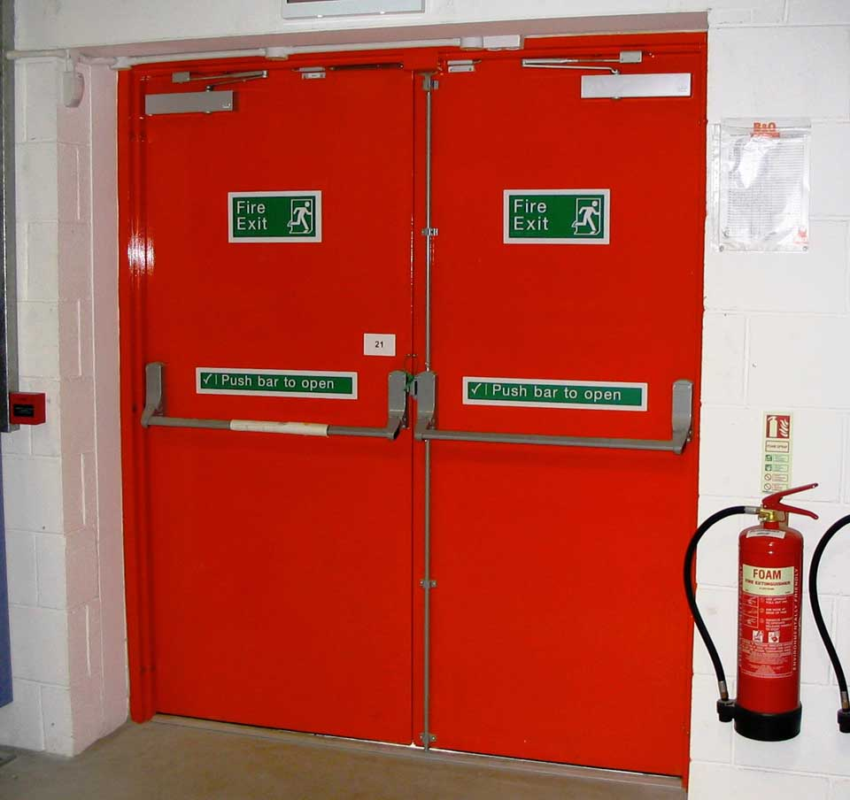 Panic Escape And Emergency Exit Doors 187 Techno One