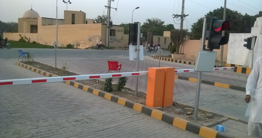E-tag Vehicle Access Control installed in Abdullah Gardens Faisalabad Pakistan by Techno One (4)