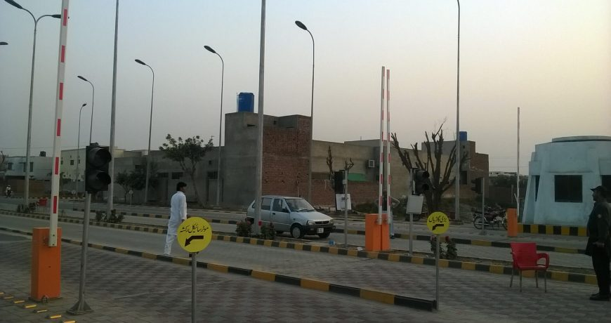 E-tag Vehicle Access Control installed in Abdullah Gardens Faisalabad Pakistan by Techno One (7)