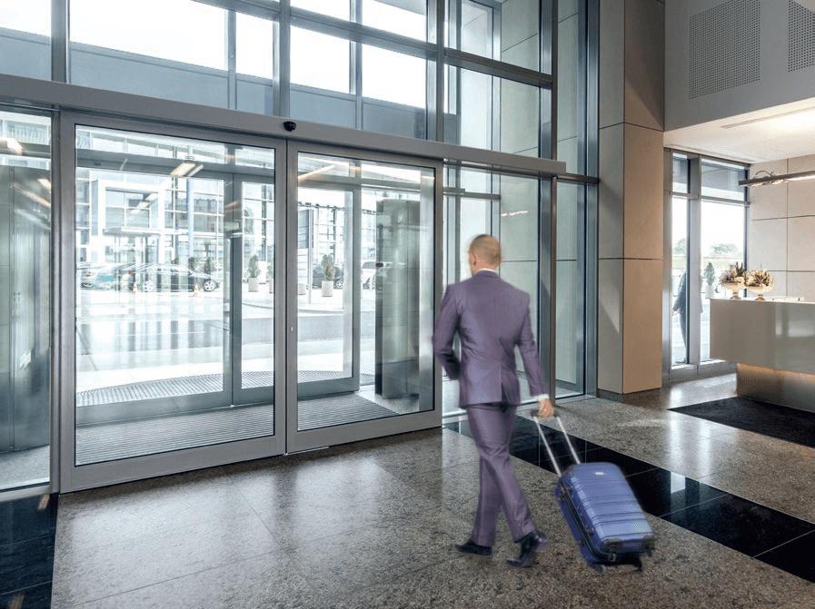 Ditec das automation for sliding doors techno one