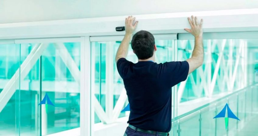 automatic door maintenance